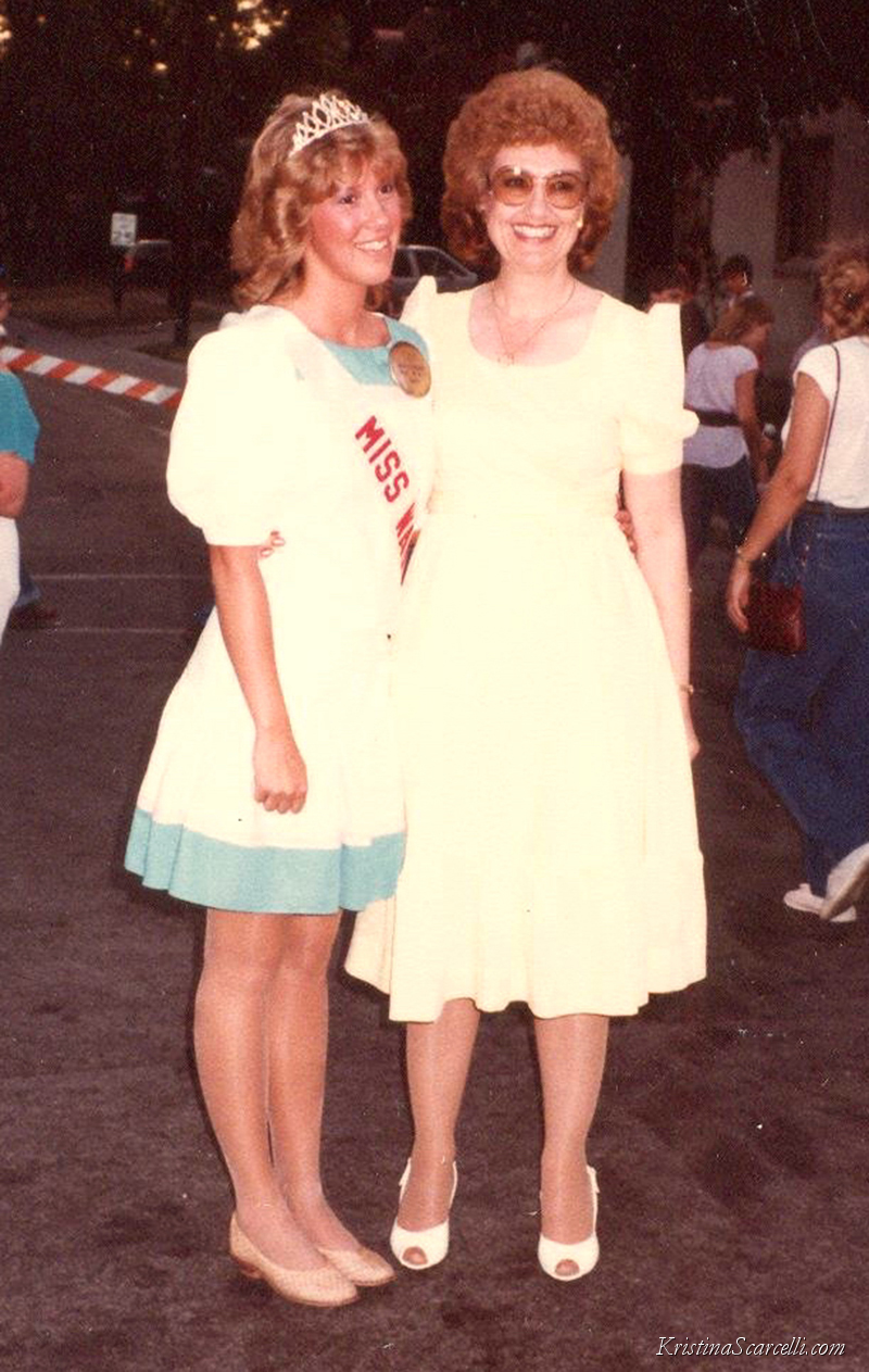 1984 Kristina Austin Scarcelli & 1952 Shirley Fields Joseph Miss Wauseon Homecoming Queens