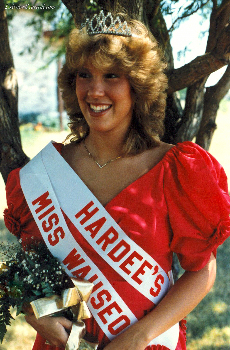 1984 Queen Miss Wauseon Homecoming Kristina Austin Scarcelli