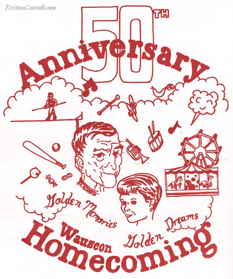 1984 Wauseon Homecoming Logo