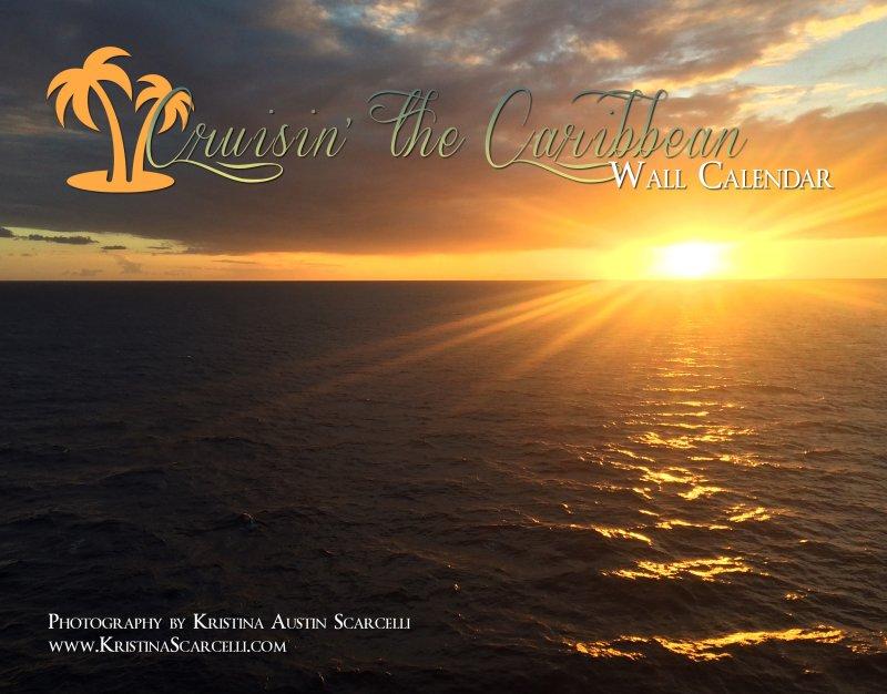 Cruisin' the Caribbean Calendar Cover
