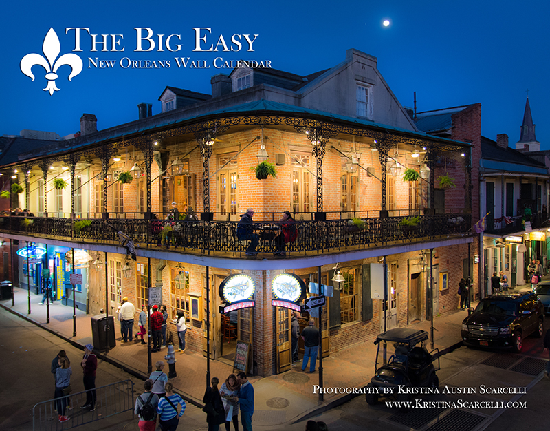The Big Easy – New Orleans Calendar Cover