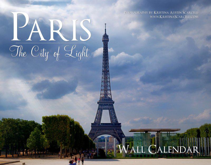 Paris Calendar Cover