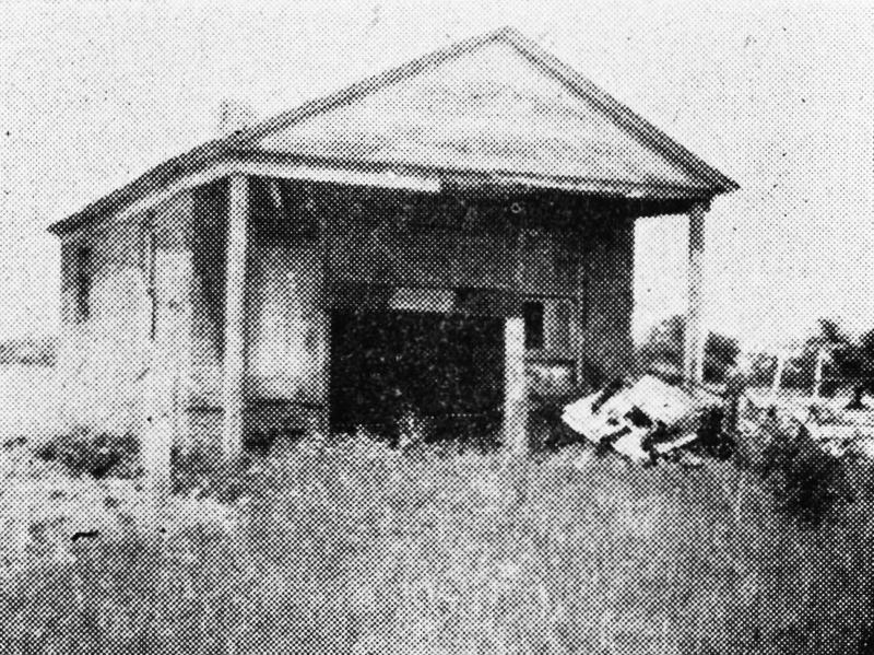 Ruins of Kensington Bank Michigan