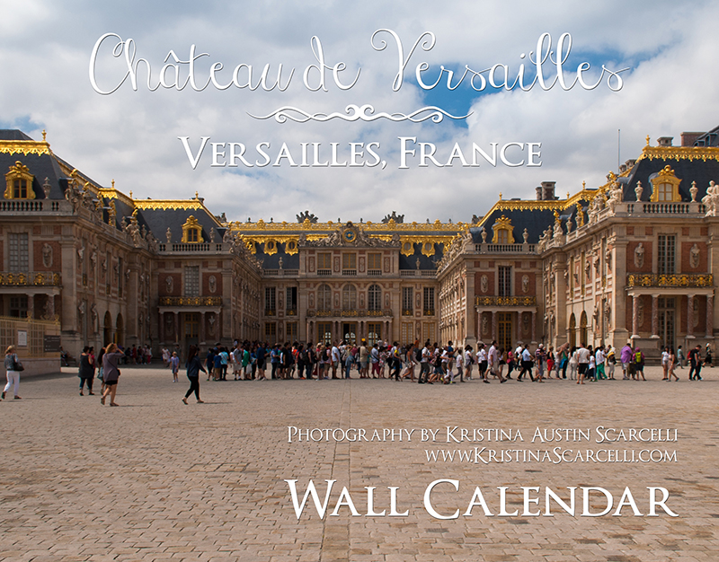 Palace of Versailles Calendar Cover